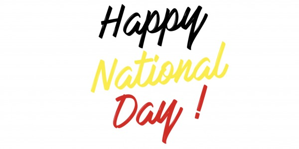 Happy National Day !