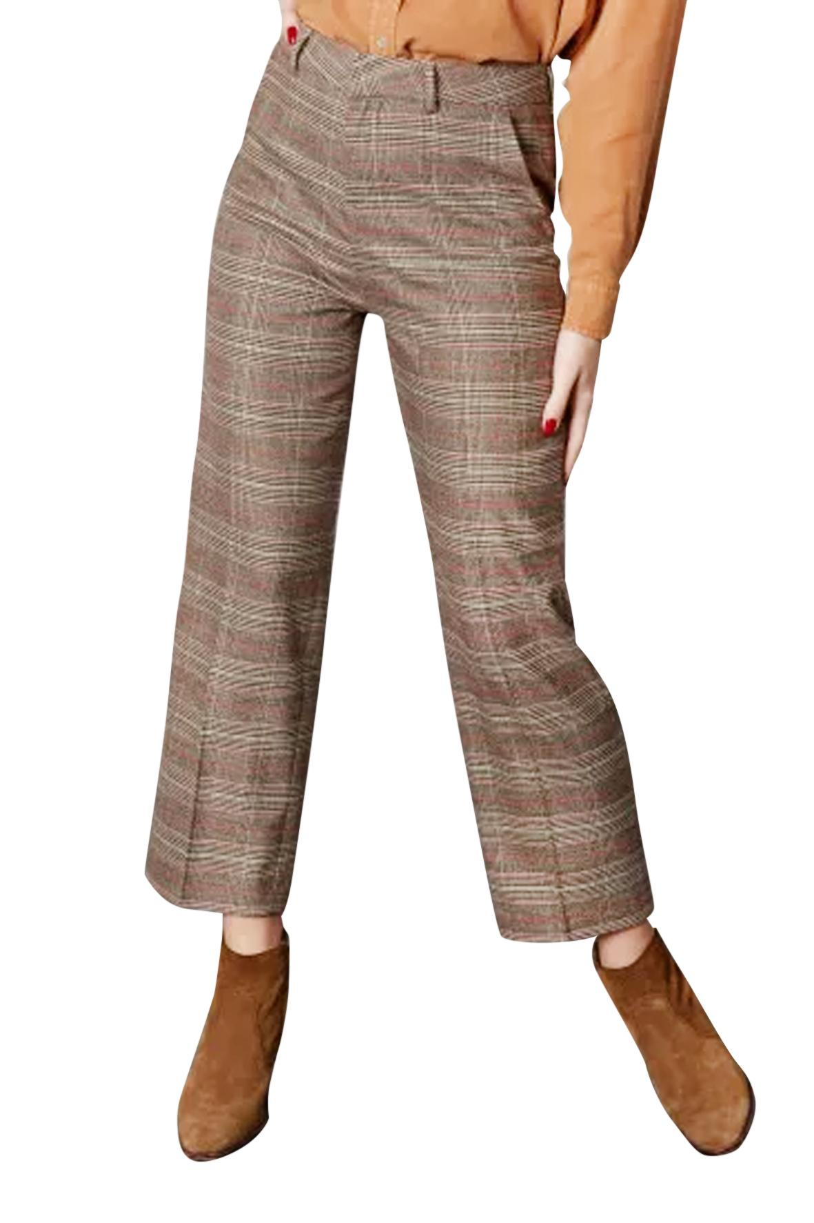 Pantalon Lary check
