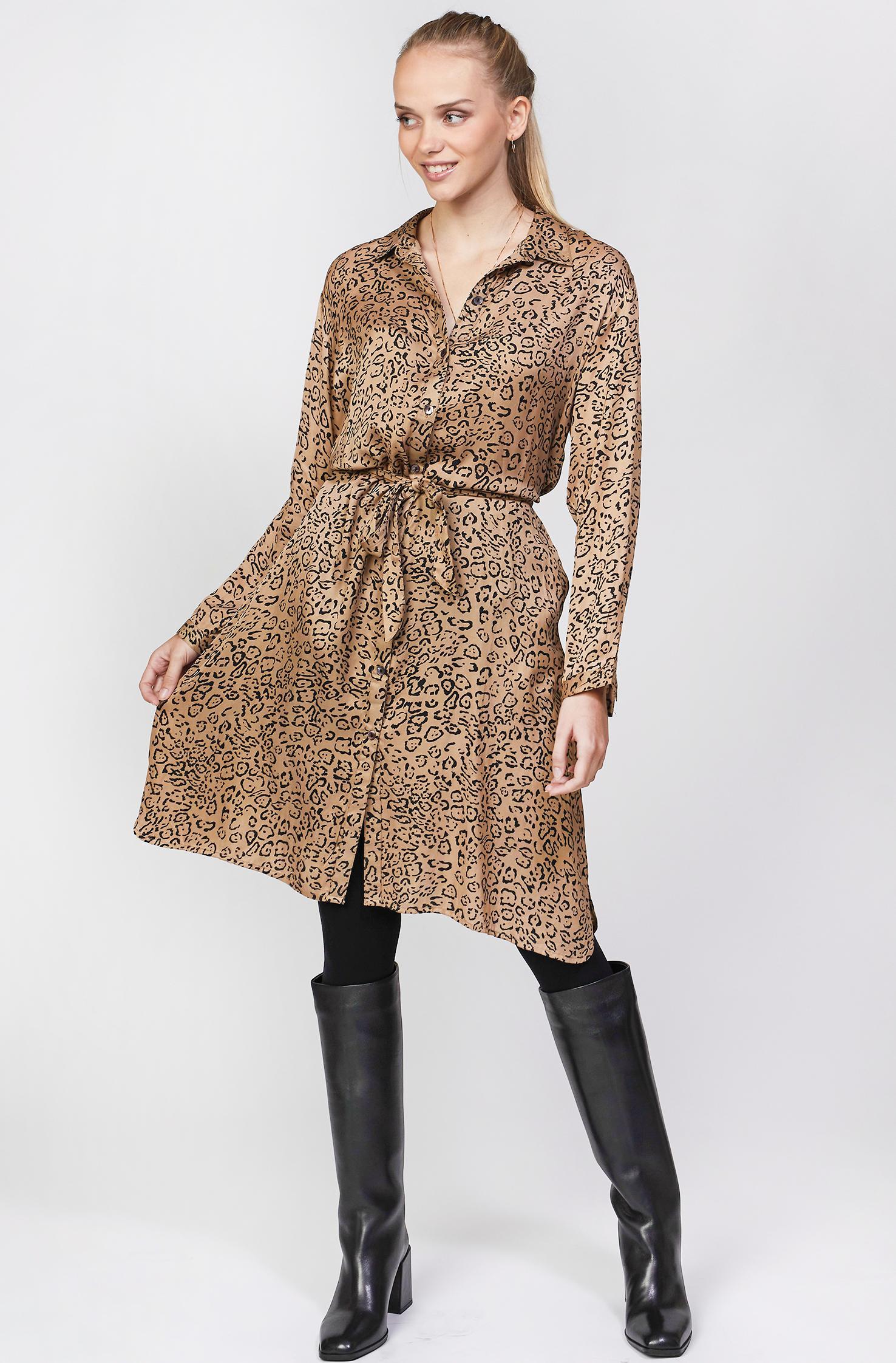 Vera léopard dress
