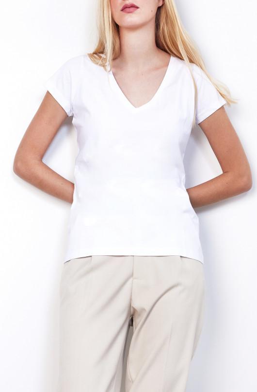 T-shirt à col V