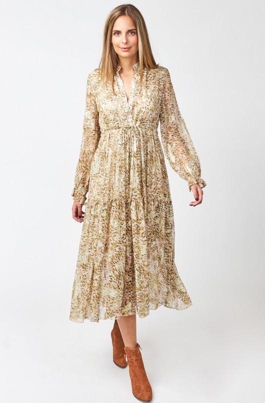 Lune Leopard dress