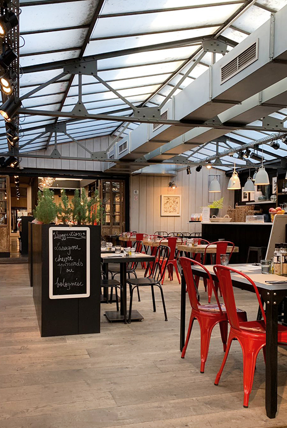 Restaurant No concept Market Fort Jaco